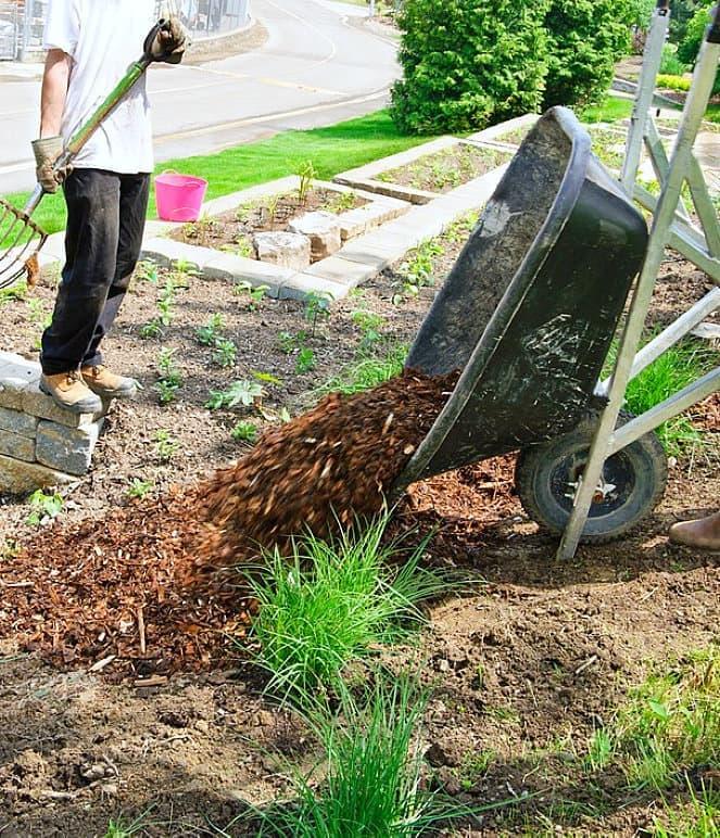 barrow load of mulch